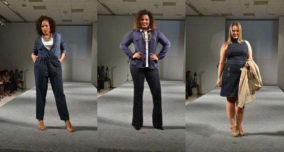 Macacão, calça flare e vestido são apostas da grife Attribute Jeans. - Foto: Adriana Libini