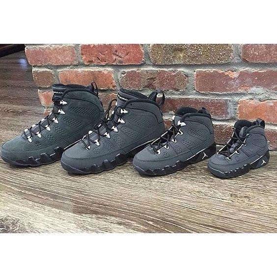 vans glissent sur les chaussures - NEW Nike Air Jordan 9 Retro IX Anthracite White Black OREGON SIZE ...