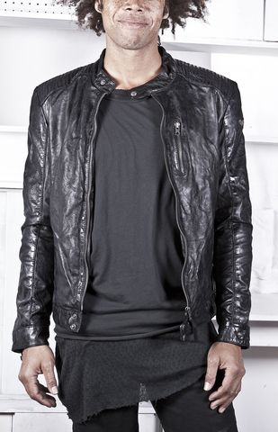 Suits me right SPRMRKT - TIGHA SHEEP LEATHER JACKET