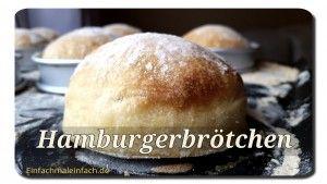 Hamburgerbrötchen | Einfach mal einfach