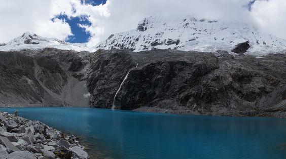 Laguna 69 - Huaraz - Pérou Magique après 4h de marche à plus de 4000m