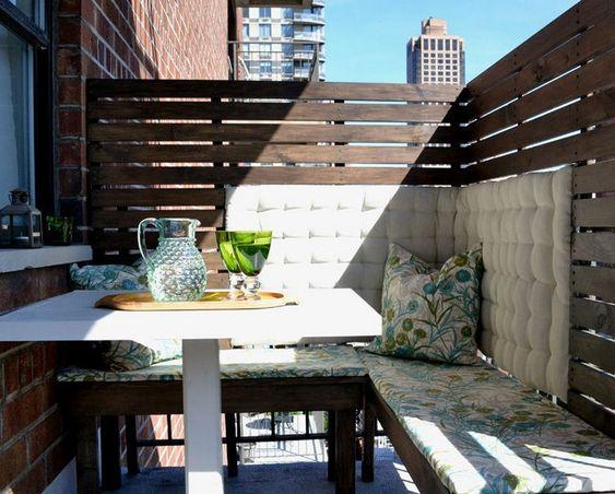 Brise-vue balcon: 50 exemples fascinants en bois et bambou!