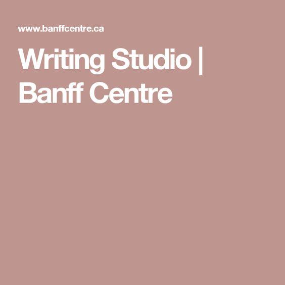 Writing Studio | Banff Centre