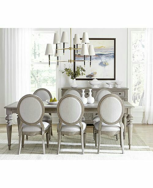 Furniture Elina Expandable Dining Furniture Collection Created For Macy S Reviews Furniture Macy S