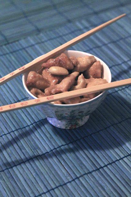 pollo alle mandorle cinese
