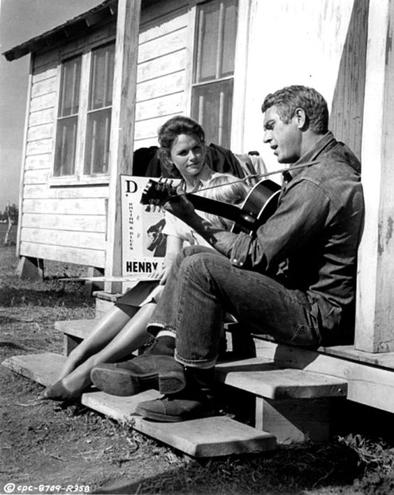 Steve McQueen and Lee Remick & ldquo; The last attempt & rdquo ;, 1965:
