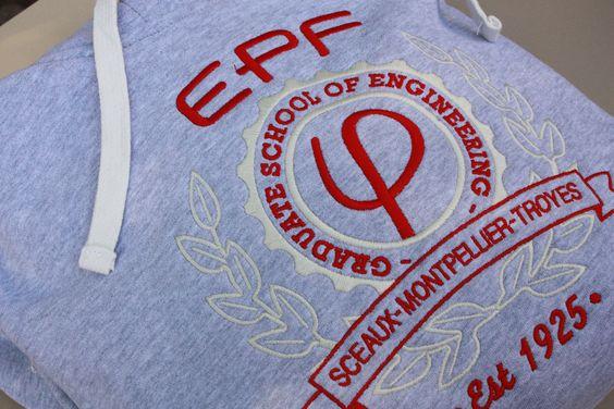 Le sweat-shirt officiel de l'EPF
