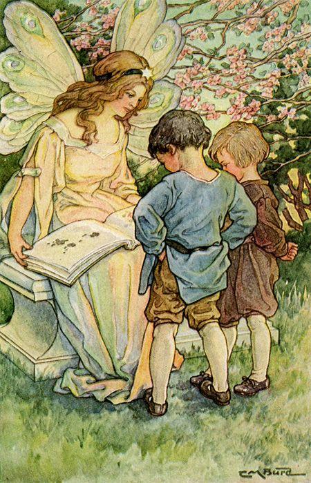 Clara Burd illustration, via http://ilclandimariapia.blogspot.com.es/2013/10/clara-miller-burd-1873-1933.html