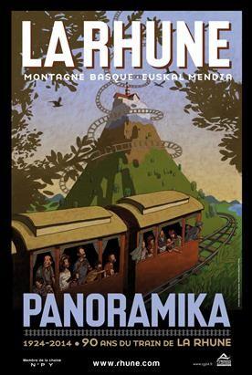 Le Train de la Rhune - Train touristique sur la chaîne pyrénéenne