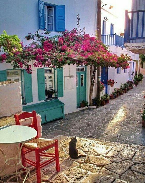 Остров Фолегандрос, Гърция