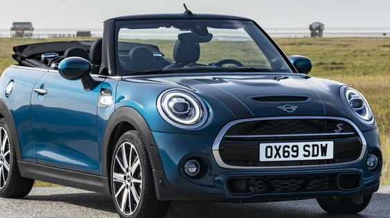 New Mini Sidewalk Convertible Comes Just In Time For The Summer In