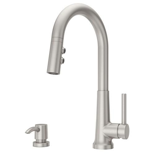 Pfister Crete One Handle Pull Down Kitchen Faucet At Menards