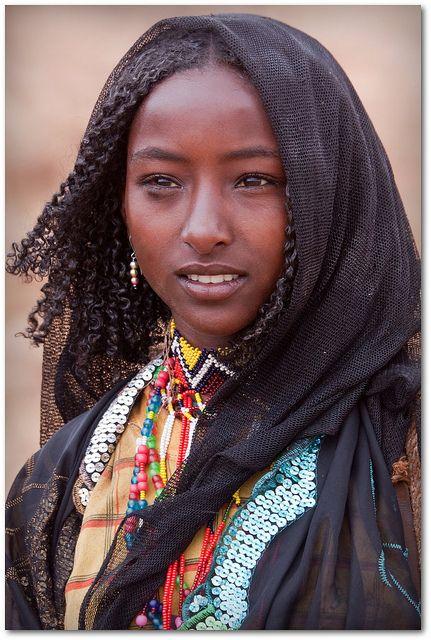 Muchacha etíope.