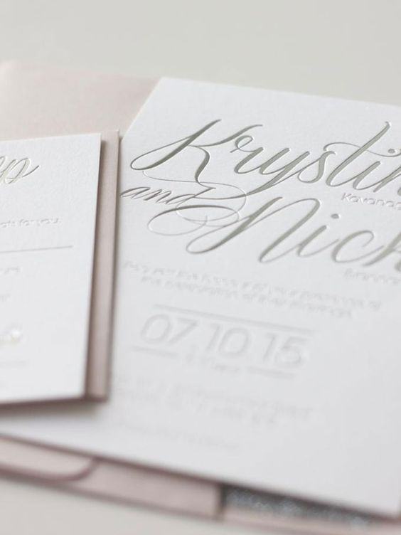 Megan Wappel Designs       Location : Toronto, Ontario     Why we love them : Specializing in custom stationery, Megan Wappel Designs also creates the perfect complement: custom sweets! We love the intricate, modern designs and use of calligraphy and letterpress in her stationery designs.