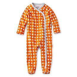 jcpenney.com | giggleBABY™ Dot Footed Coveralls