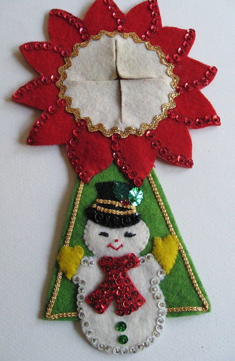 Bucilla door hanger: