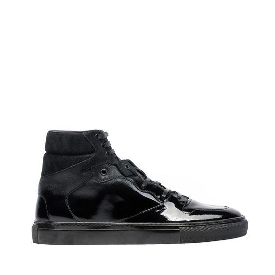 Sneakers Hautes Effet Spray