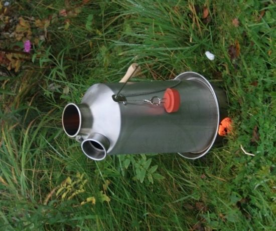 Kelly Kettle Stainless Steel 'Base Camp' 1.5 Litre