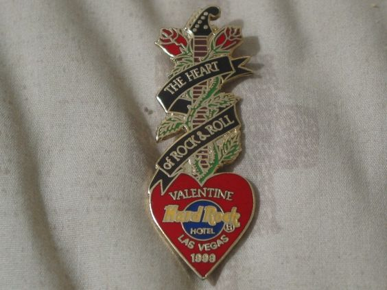 A Junkee Shoppe Junk Market Stop: HARD ROCK Hotel Las Vegas 1999 Staff Valentine Pinback ... For Sale Click Link Here To View >>>> http://ajunkeeshoppe.blogspot.com/2015/12/hard-rock-hotel-las-vegas-1999-staff.html