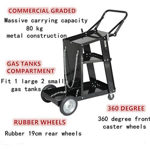 WELDING CART Storage for Tanks /& Accessories