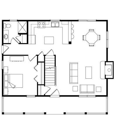 Home Floor Plans A Frame Cabin And Log Homes On Pinterest