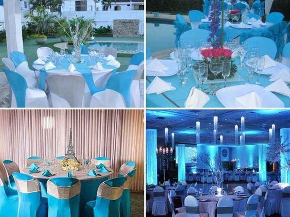 Arreglos para mesas de 15 azul 5 tile xv pinterest mesas - Ver decoracion de salones ...