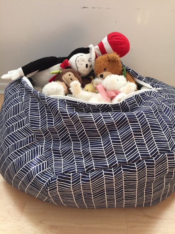 Stuffed Animal Storage Chairs And Animals On Pinterest