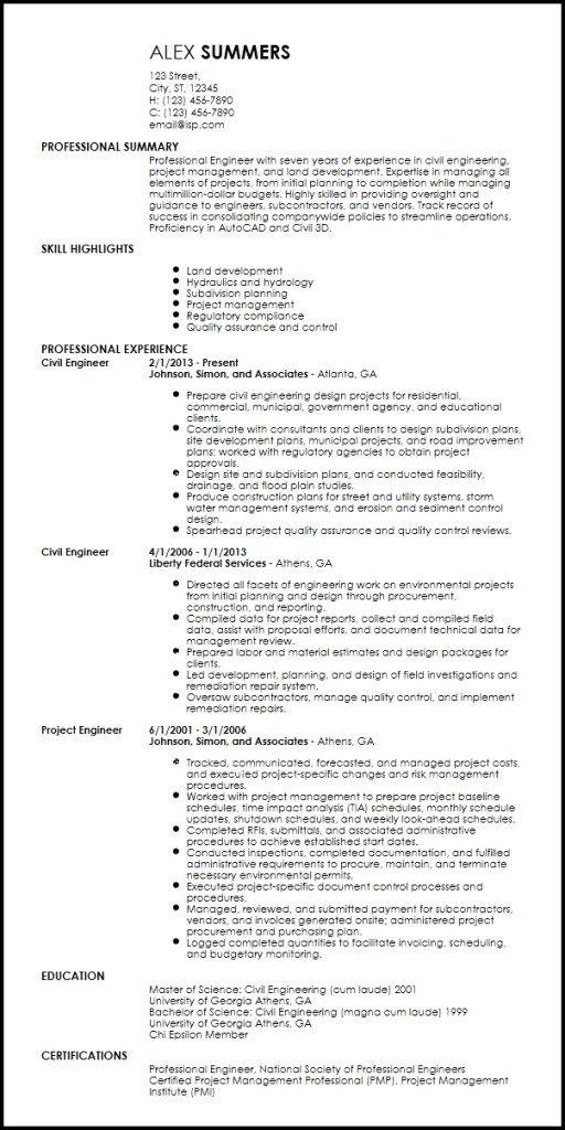 Free Professional Engineering Resume Templates Resume Now Engineering Resume Templates Engineering Resume Resume Template