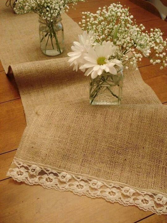 20 detalles decorativos hechos con arpillera / 20 Decoratives details made with burlap | Bohemian and Chic:
