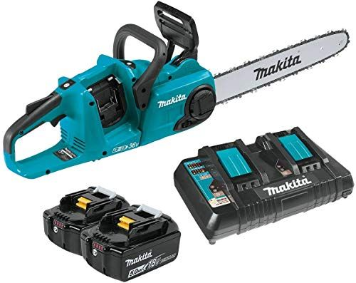 New Makita Xcu04pt Lxt Lithium Ion Brushless Cordless 16 Chain Saw Kit 5 0ah Online Shopping Togreatshop In 2020 Makita Chainsaw Outdoor Power Equipment