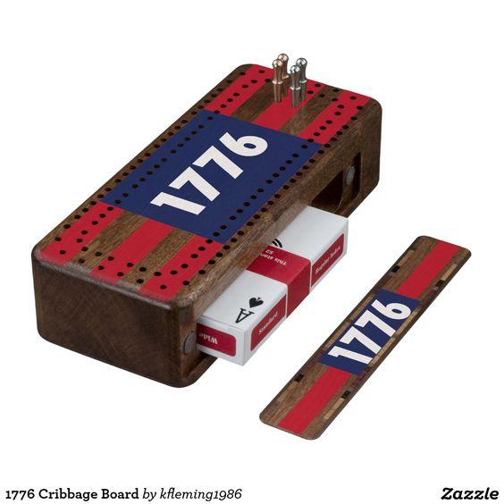 1776 Cribbage Board