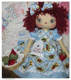 charmingsbycmh.blogspot.com.br com morangos de fuxicos