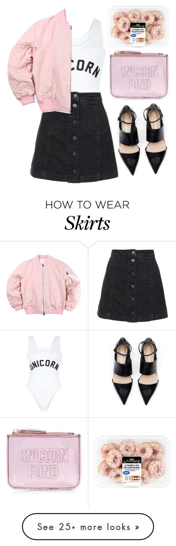 """""""Unicorn Fund"""" by mode-222 on Polyvore featuring New Look and Topshop"""