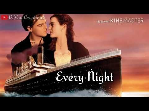 Titanic My Heart Will Go On Titanic Song Whatsapp Status Lyrics Video Song Youtube In 2020 Friendship Video Songs Titanic