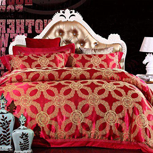 200tc More Colors Wedding Style Pure Cotton Geometric Patterns Four Set Of Duvet Cover 1duvet Cover 1sheet Jacquard Bedding Silk Bedding Set Linen Sheet Sets