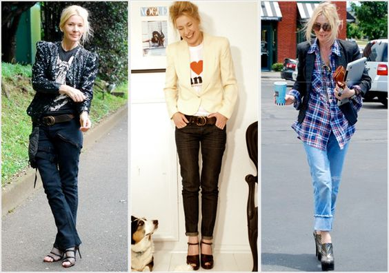 Love Judy's laid back style!