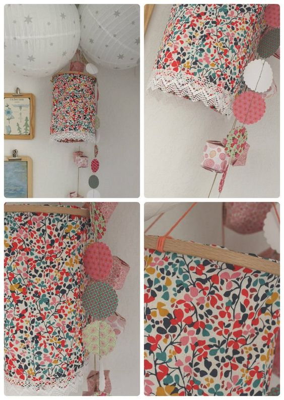 Tuto fabriquer une lanterne fleurie vintage fleur et motifs de fleurs - Fabriquer une lanterne ...