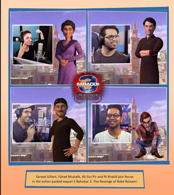 The official first look of the sequel of Sharmeen Obaid Chinoy's animated blockbuster 3Bahadur –'3 Bahadur – The Revenge of Baba Balaam',…