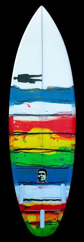 Monsta | Rainbow Resin Stripes