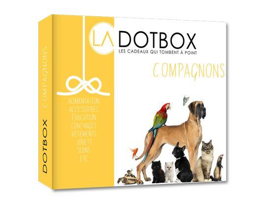 La DOTBOX Compagnons http://www.ladotbox.com/coffret-cadeau-compagnons/9-coffret-cadeau-sur-l-animalerie.html