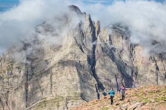 Crestone Needle Hikers - Grant Ordelheide