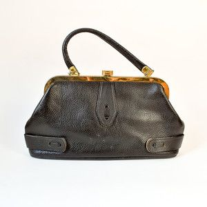 60s Bonita Bag Black now featured on Fab.