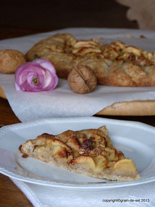 grain de sel - salzkorn: Lagerbestand: Tarte aux pommes et aux noix