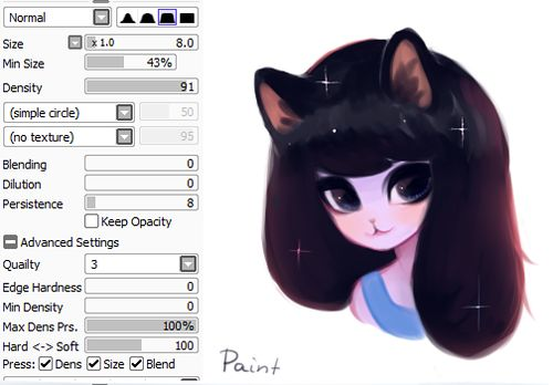 Custom brushes for Sai? - Paint Tool SAI