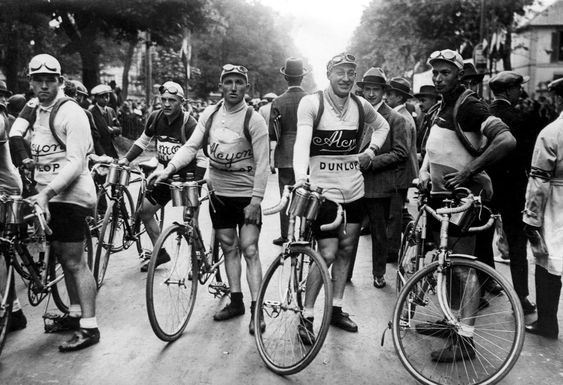 depart de Tour de France de Paris 1928