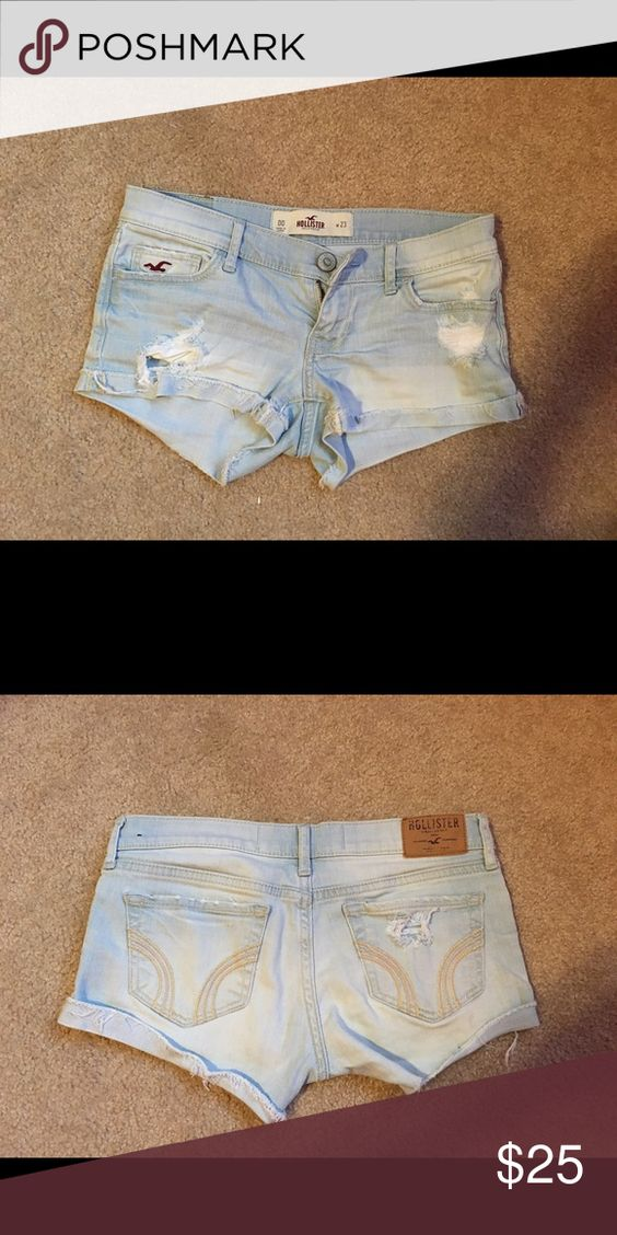 Hollister shorts Good condition. 00 w23 Hollister Shorts Jean Shorts