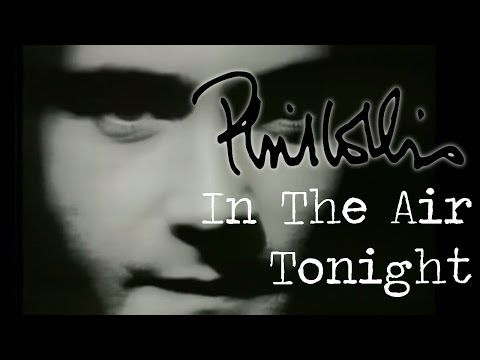 No Ar Hoje À Noite (Official Videoclipe) -  /  Phil Collins - In The Air Tonight (Official Music Video) -