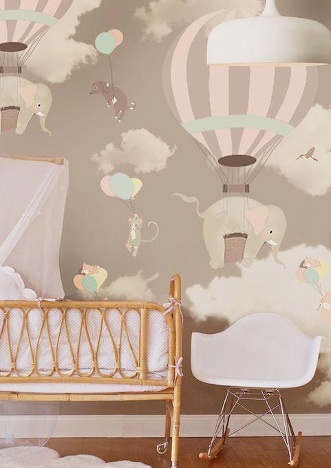 Little Hands Wallpaper Mural   Falling On Behance