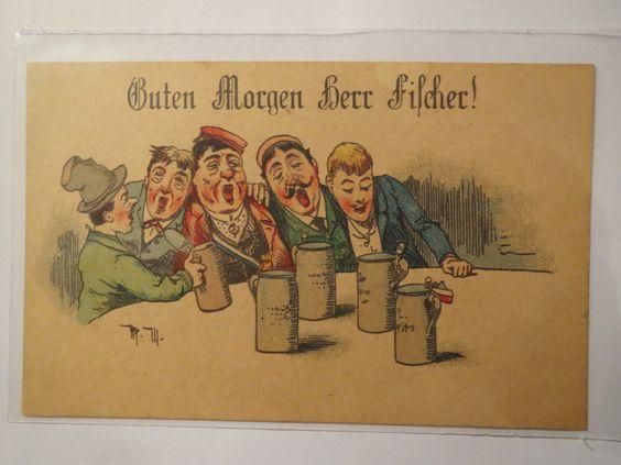 Betrunkene Pennäler Guten Morgen Herr Fischer Studentika | eBay