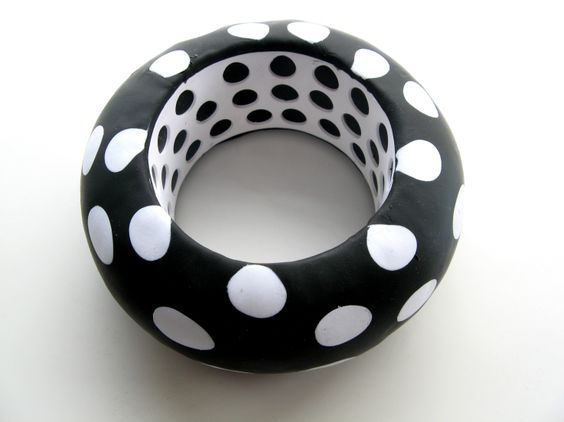 A great big bangle by metal and clay artist Debbie Carlton. see more...  http://crafthaus.ning.com/photo/photo/listForContributor?screenName=0ww6jv86jfzhd